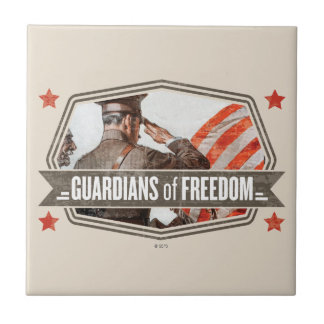 Solider-Guardian of Freedom Tile