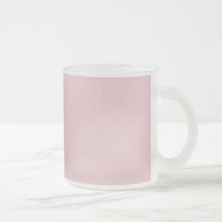 solidf LIGHT PINK SOLID COLORS BACKGROUNDS WALLPAP Frosted Glass Coffee Mug