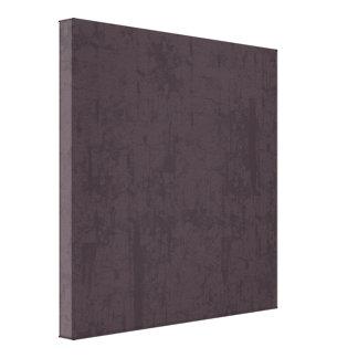 solidN RICH DARK PURPLE VELVET GRUNGE TEXTURE BACK Stretched Canvas Prints