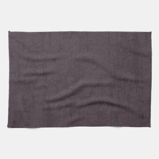 solidN RICH DARK PURPLE VELVET GRUNGE TEXTURE BACK Kitchen Towels