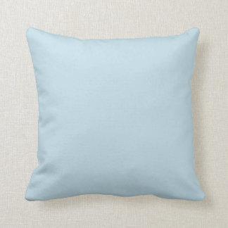 Sólido azul del hielo cojin