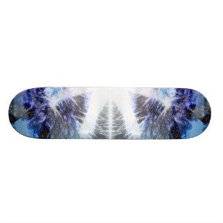 Sólido congelado skateboard
