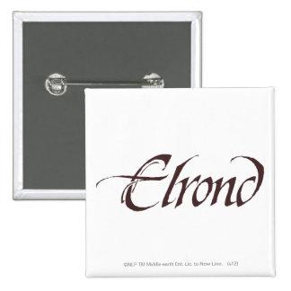 Sólido conocido de Elrond Pins