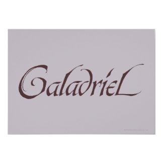 """Sólido conocido de Galadriel Invitación 5"""" X 7"""""""