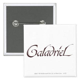 Sólido conocido de Galadriel Pin