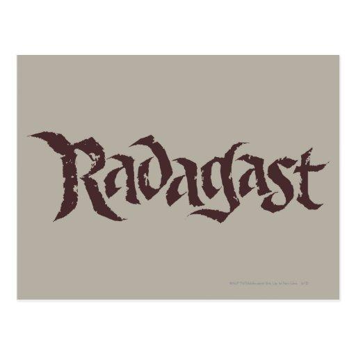 Sólido conocido de RADAGAST™ Postal