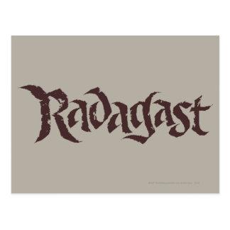 Sólido conocido de RADAGAST™ Postales