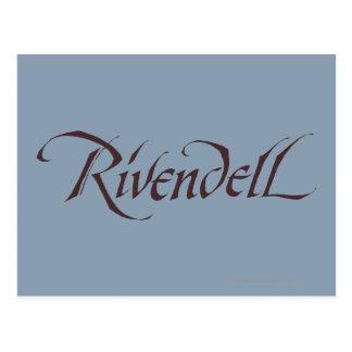 Sólido conocido de Rivendell Postales