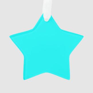 Sólido de gama alta de la aguamarina coloreado