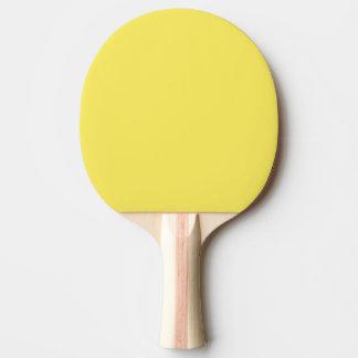 Sólido de gama alta del maíz coloreado pala de tenis de mesa