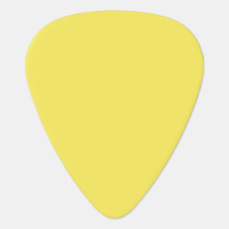 Sólido de gama alta del maíz coloreado púa de guitarra