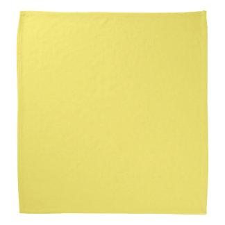 Sólido de gama alta del maíz coloreado bandana