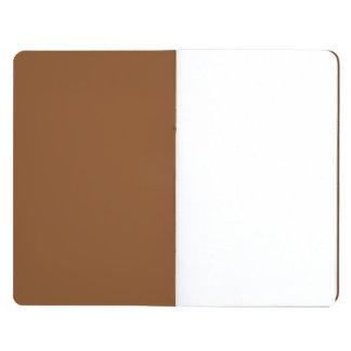 Sólido de gama alta pelirrojo coloreado cuadernos