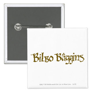 Sólido del ™ de BILBO BAGGINS Pins