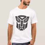 Sólido del escudo de Autobot Playera