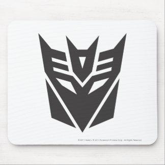 Sólido del escudo de Decepticon Mousepad