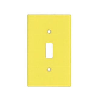 Sólido vibrante del maíz coloreado placas para interruptor