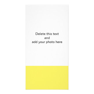Sólido vibrante del maíz coloreado tarjetas fotograficas personalizadas