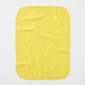 Sólido vibrante del maíz coloreado paños de bebé