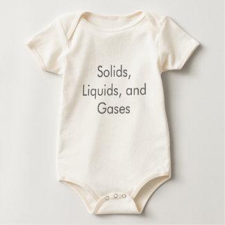 Sólidos, líquidos y bebé orgánico de los gases mamelucos