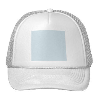 SOLIDR LIGHT BABY BLUE SOLID COLOR BACKGROUND WALL TRUCKER HAT