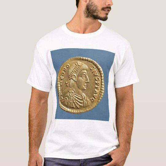 Solidus de Theodosius I el grande cubierto Playera