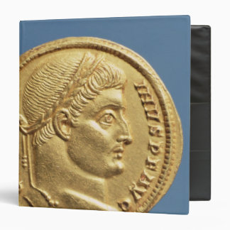Solidus  of Constantine I 3 Ring Binder