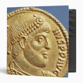 Solidus  of Julian the Apostate  draped Binder