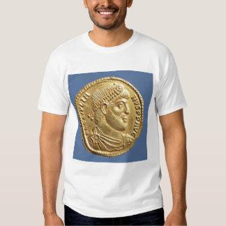Solidus  of Julian the Apostate  draped Tee Shirt