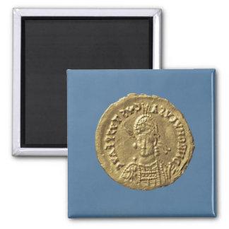Solidus  of Romulus Augustulus Magnet