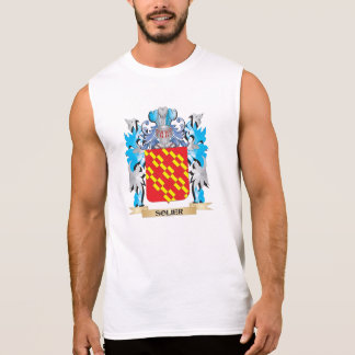 Solier Coat of Arms - Family Crest Sleeveless Tee