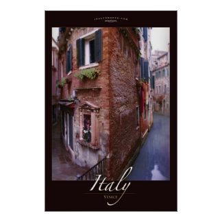Soliloquio, Venecia, Italia Póster