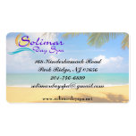 Solimar Day Spa Business Cards