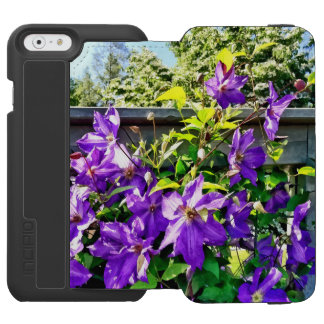 Solina Clematis on Fence Incipio Watson™ iPhone 6 Wallet Case