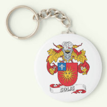 Solis Family Crest Keychain