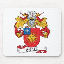 Solis Family Crest Mousepad