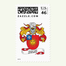 Solis Family Crest Stamps