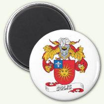 Solis Family Crest Magnet