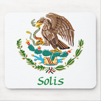 Solis Mexican National Seal Mouse Pad