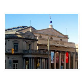solís Montevideo del teatro Postales