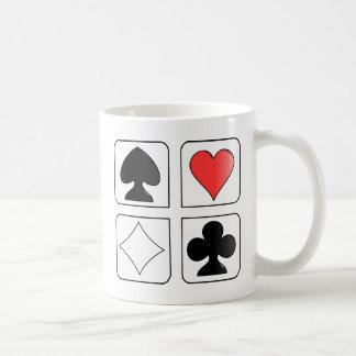 solitaire Cards Design Classic White Coffee Mug