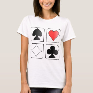 solitaire Cards Design T-Shirt