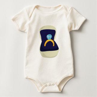 Solitario del diamante traje de bebé
