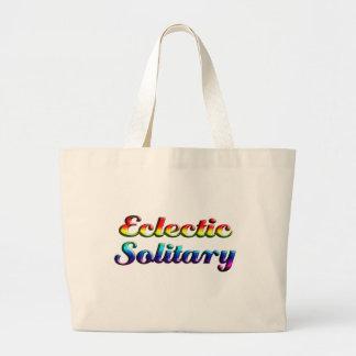 solitario ecléctico bolsa tela grande
