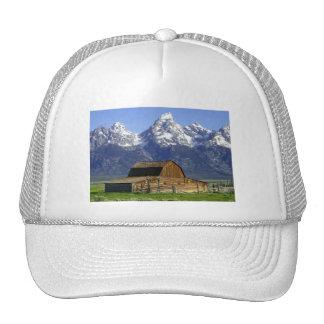 Solitary Barn at Grand Tetons Trucker Hat