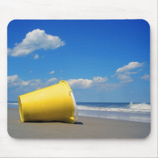 Solitary Beach Pail Mouse Pad