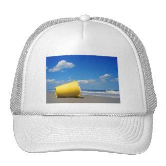 Solitary Beach Pail Trucker Hat
