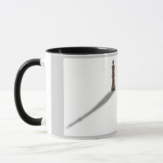 Solitary Black King Mug