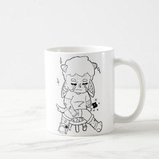 Solitary boy/lonely boy. coffee mug