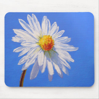 Solitary Daisy Mouse Pad